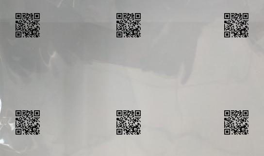 A-one UV喷码机PE膜喷印二维码